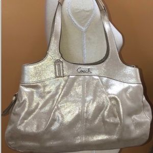 Coach hobo style handbag